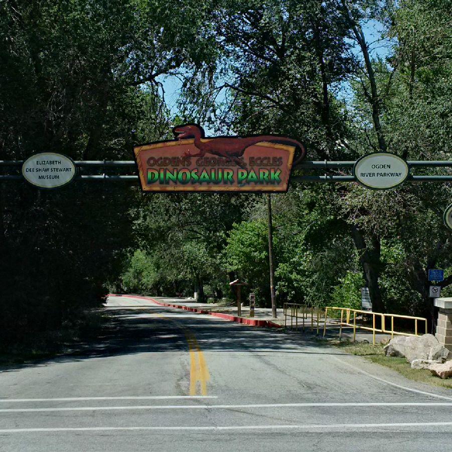dinosaur park, utah by avid amiri